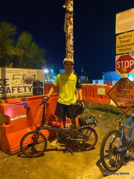 Cycling Lamp Post 1 Tuas