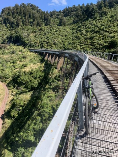 New Zealand cycling trails