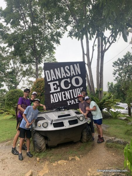Danasan Eco Adventure Park with family