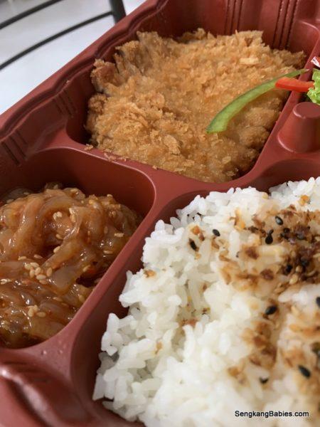 Pork cutlet set