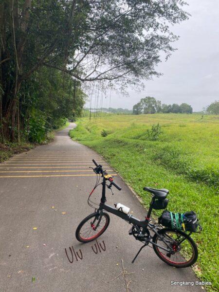 Cycle to Woodlands and Mandai, around 50km