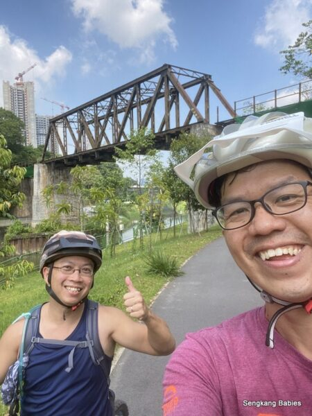 Cycle West Singapore 80km-Training for RTI