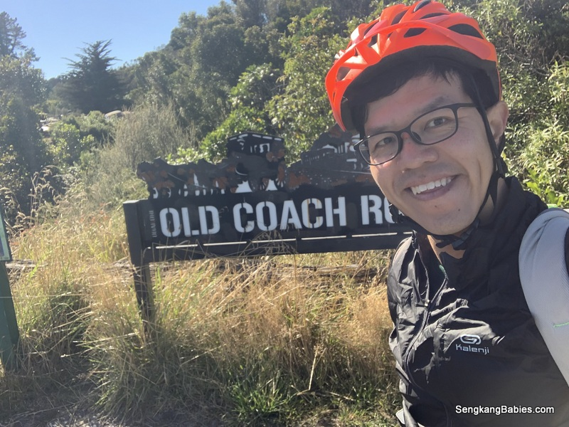 New Zealand cycling trails at Old Coach Road