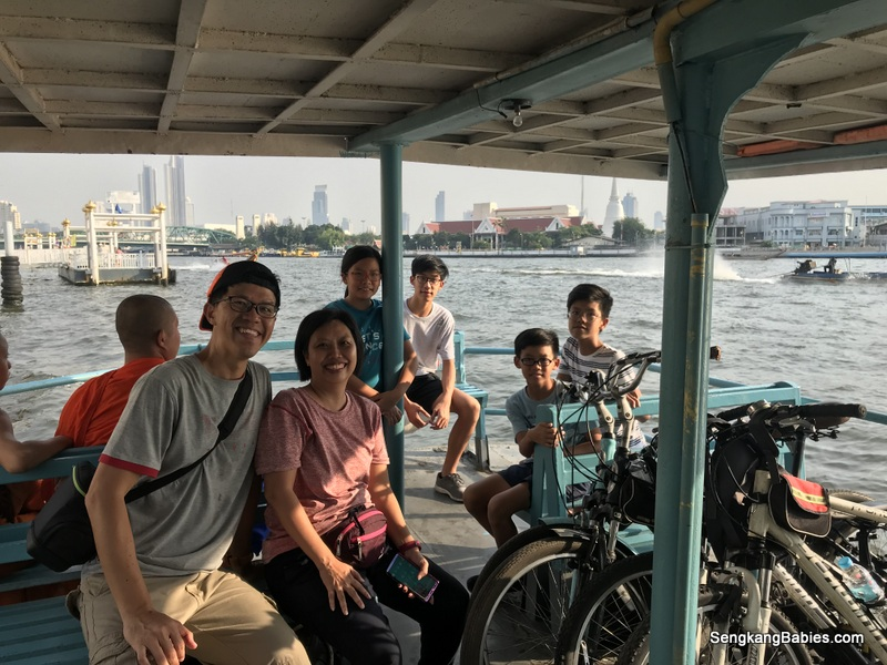 Bangkok cycling tour