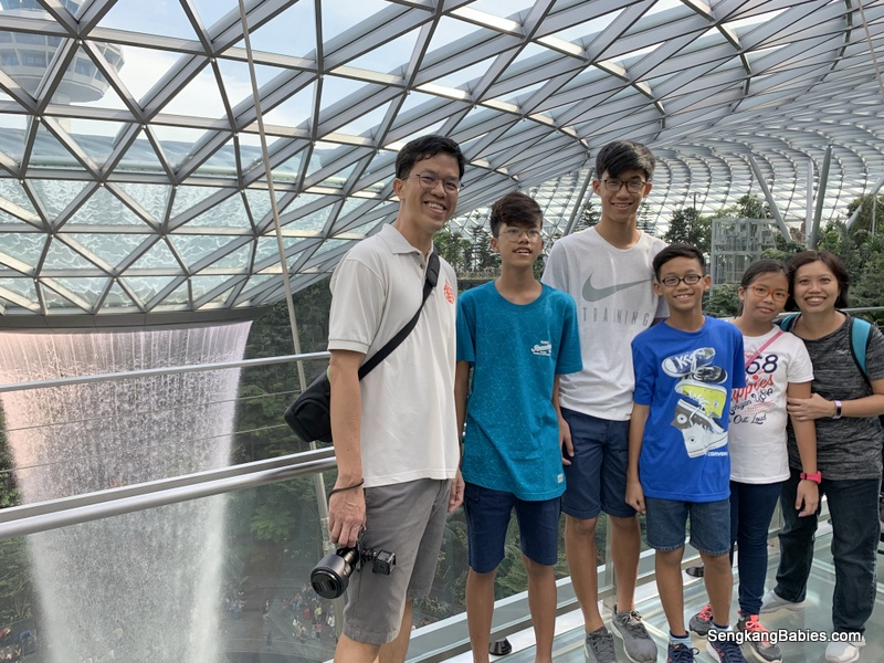 Jewel Changi Airport Canopy Park attractions