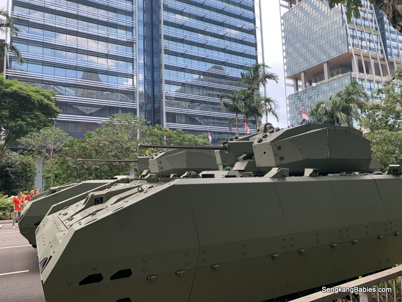 Singapore Army Hunter
