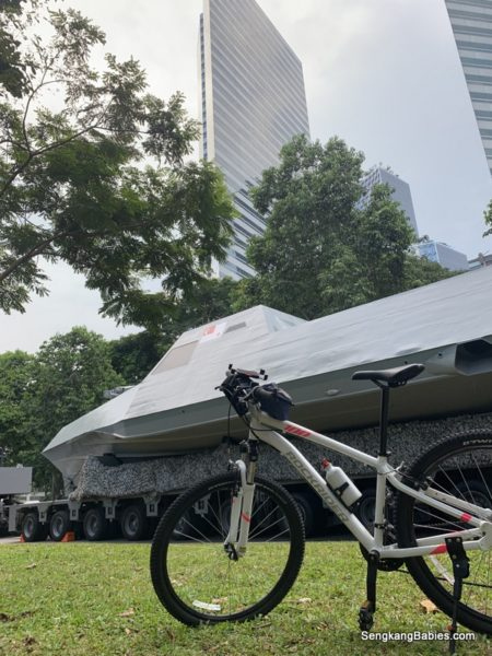 NDP 2019 Mobile Column form up at Suntec