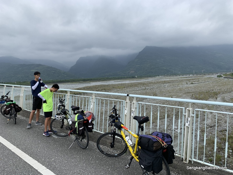 Family Cycling Taiwan