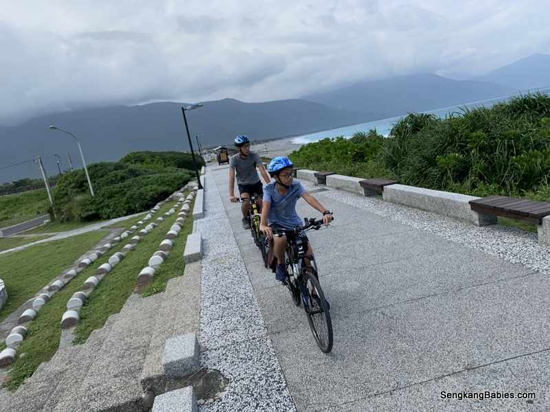 Day 1b – Taiwan Giant bicycle rental and Hualien attractions