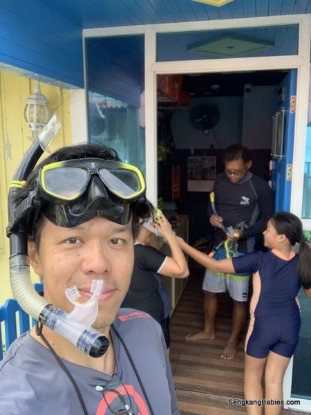 tioman snorkeling class