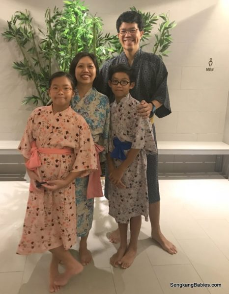 Family's first experience at Yunomori Onsen & Spa