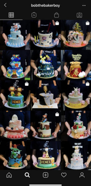 Bob the Baker Boy cakes