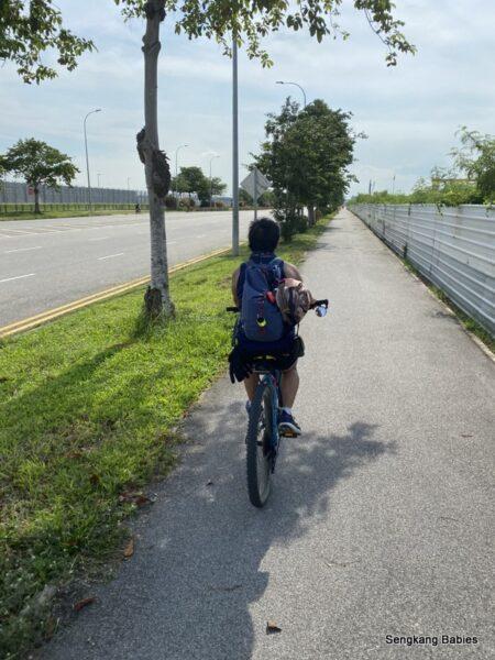 Cycling TMCR Tanah Merah Coastal Road
