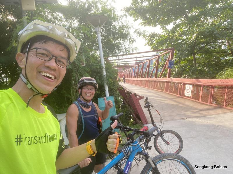 Cycling round island RTI
