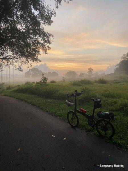 Cycle to Ulu Sembawang
