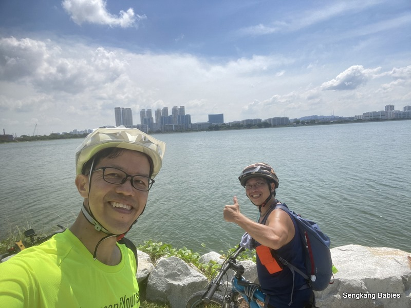 Round Island cycling in Singapore