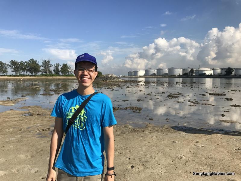 Pulau Hantu Intertidal walk
